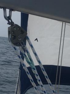 and main sheet rope